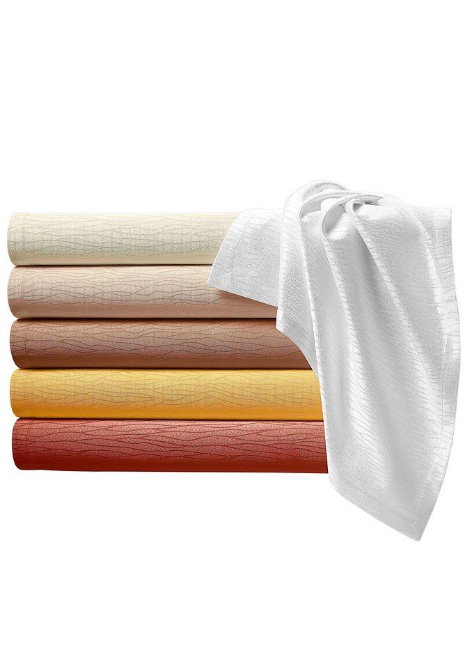 Tischdecke in kupferfarben