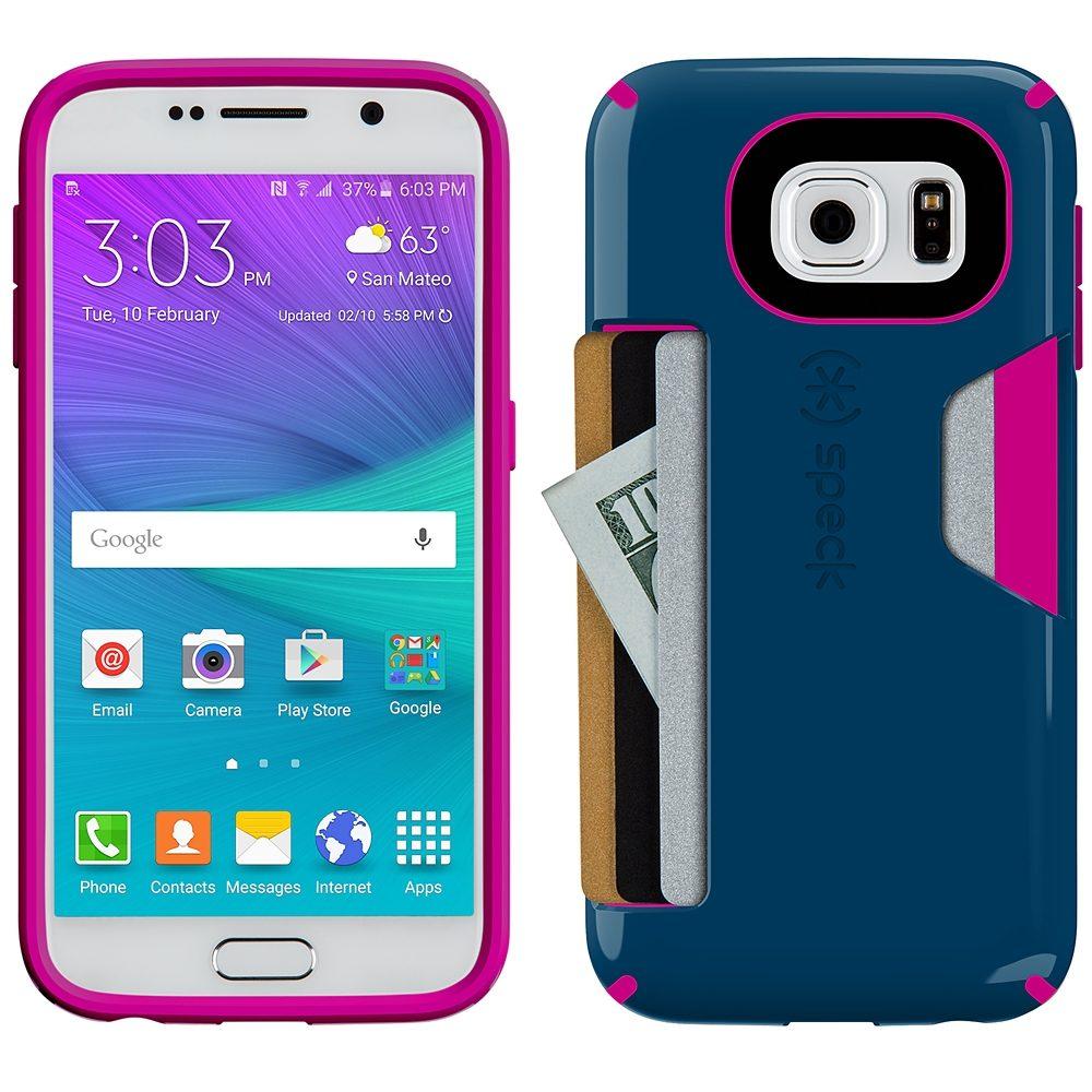 Speck HardCase »CandyShell Card Samsung Galaxy S6 Deep Sea Blue/Li«