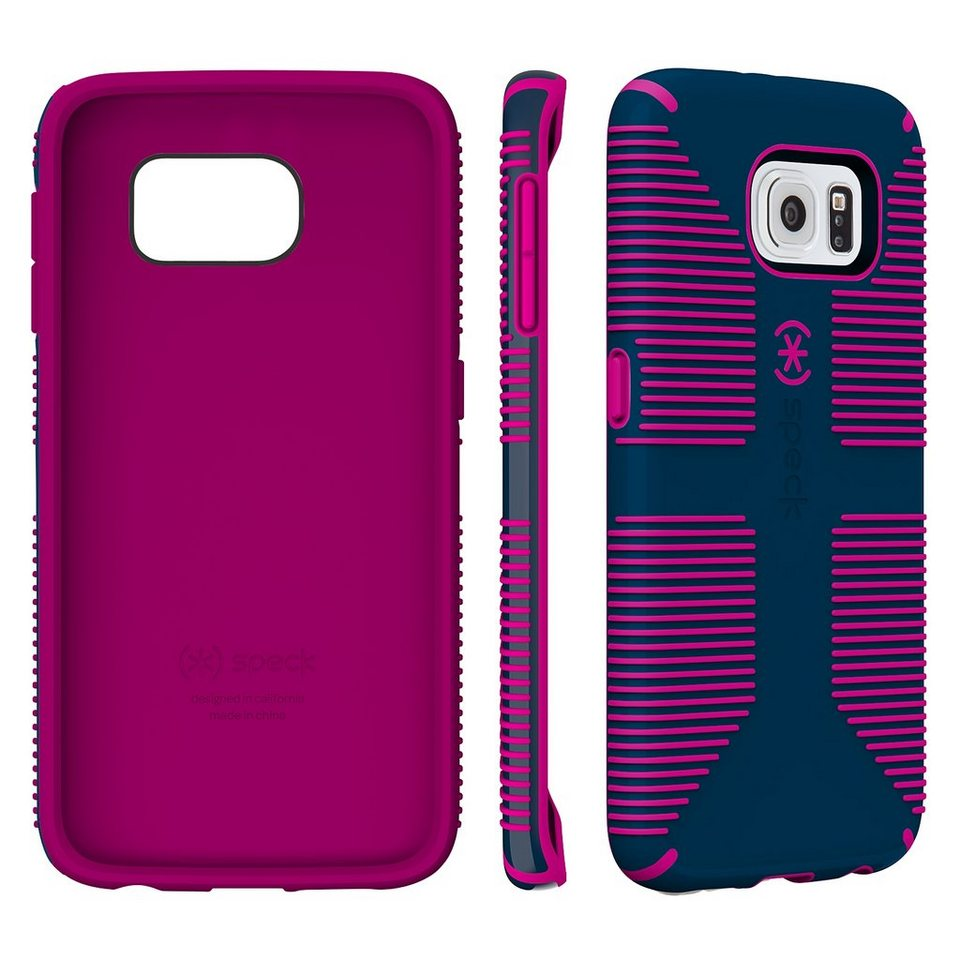 Speck HardCase »CandyShell Grip Samsung Galaxy S6 Edge Deep Sea Bl« in blau