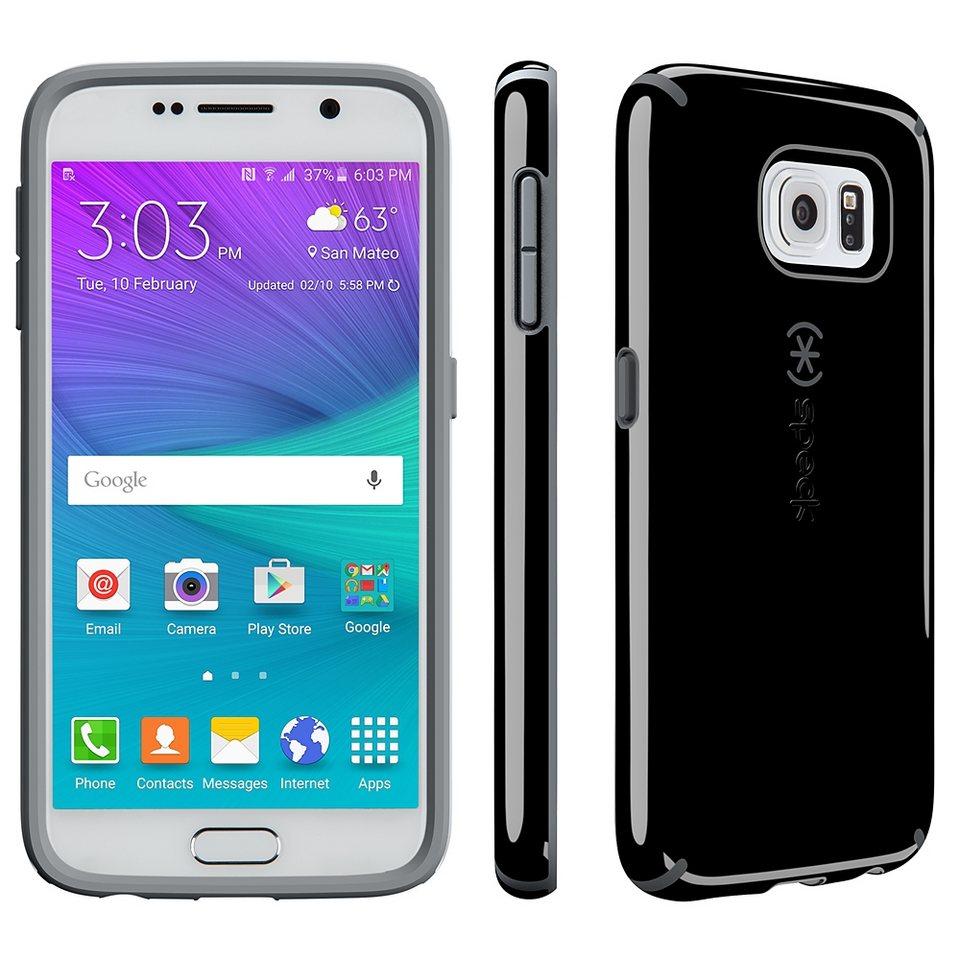 Speck HardCase »CandyShell Black/Slate Samsung Galaxy S6« in schwarz