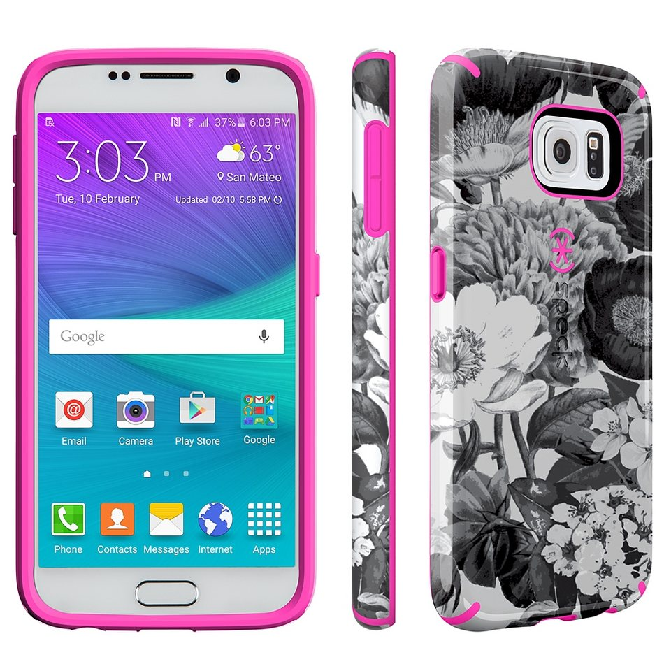 Speck HardCase »CandyShell Inked Samsung Galaxy S6 Vintage Bouquet« in mehrfarbig