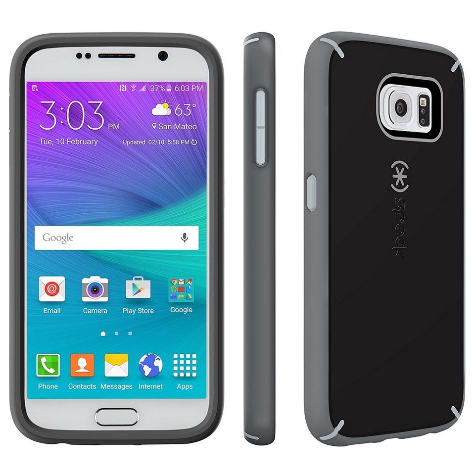Speck HardCase »MightyShell Samsung Galaxy S6 Black/Gravel Grey/Sl« in schwarz