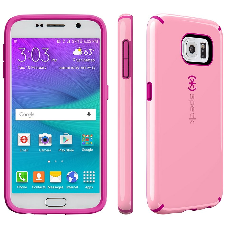 Speck HardCase »CandyShell Samsung Galaxy S6 Carnation Pink/Lipsti« in pink