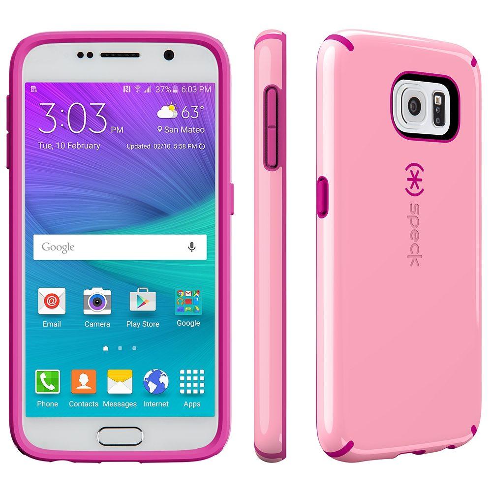 Speck HardCase »CandyShell Samsung Galaxy S6 Carnation Pink/Lipsti«