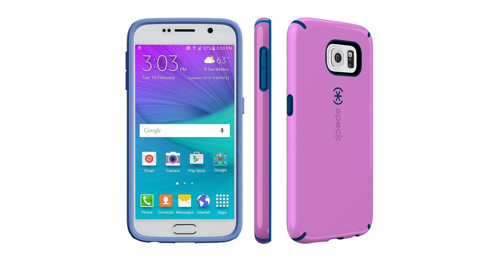 Speck HardCase »CandyShell Samsung Galaxy S6 Beaming Orchid Purple«