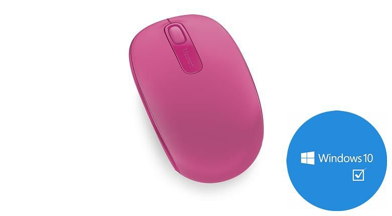 Microsoft Mobile Maus »Wireless Mouse 1850 Magenta« in pink