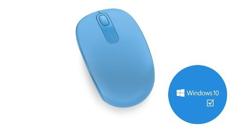 Microsoft Mobile Maus »Wireless Mouse 1850 Cyan Blue« in blau