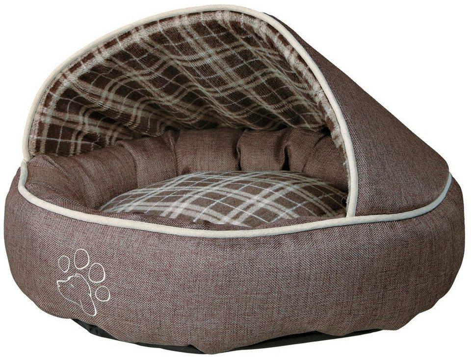 Hundebett und Katzenbett »Timber« in beige/braun