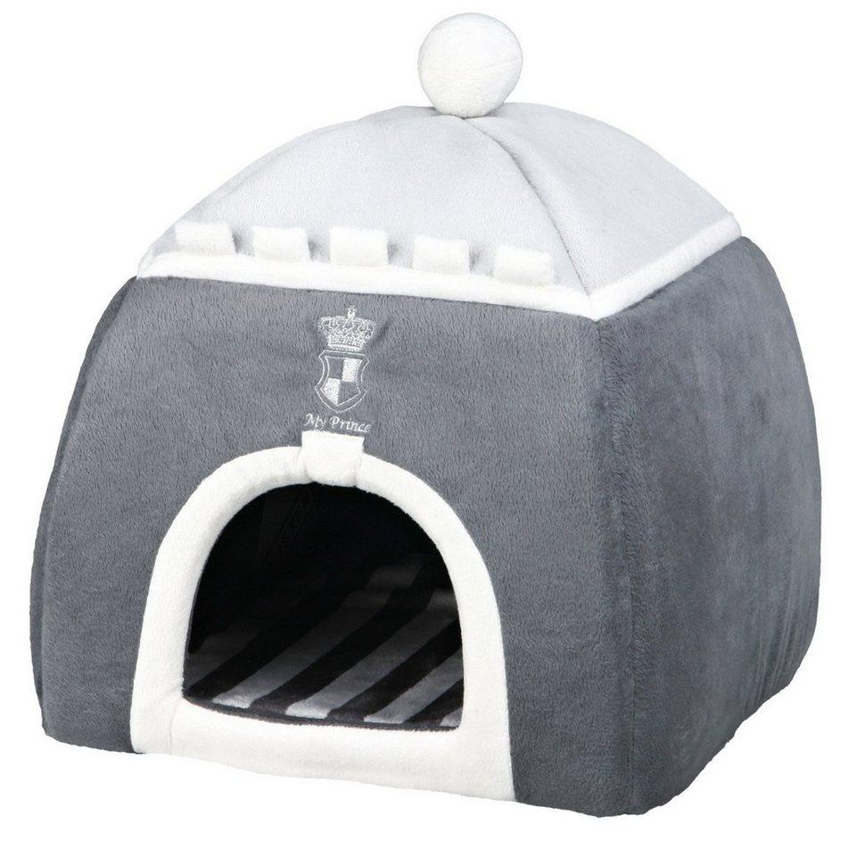 Hundehöhle und Katzenhöhle »My Prince Kuschelhöhle« in grau/weiß