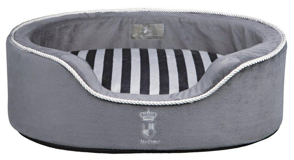 Trixie Hundebett und Katzenbett »My Prince« in grau/weiß