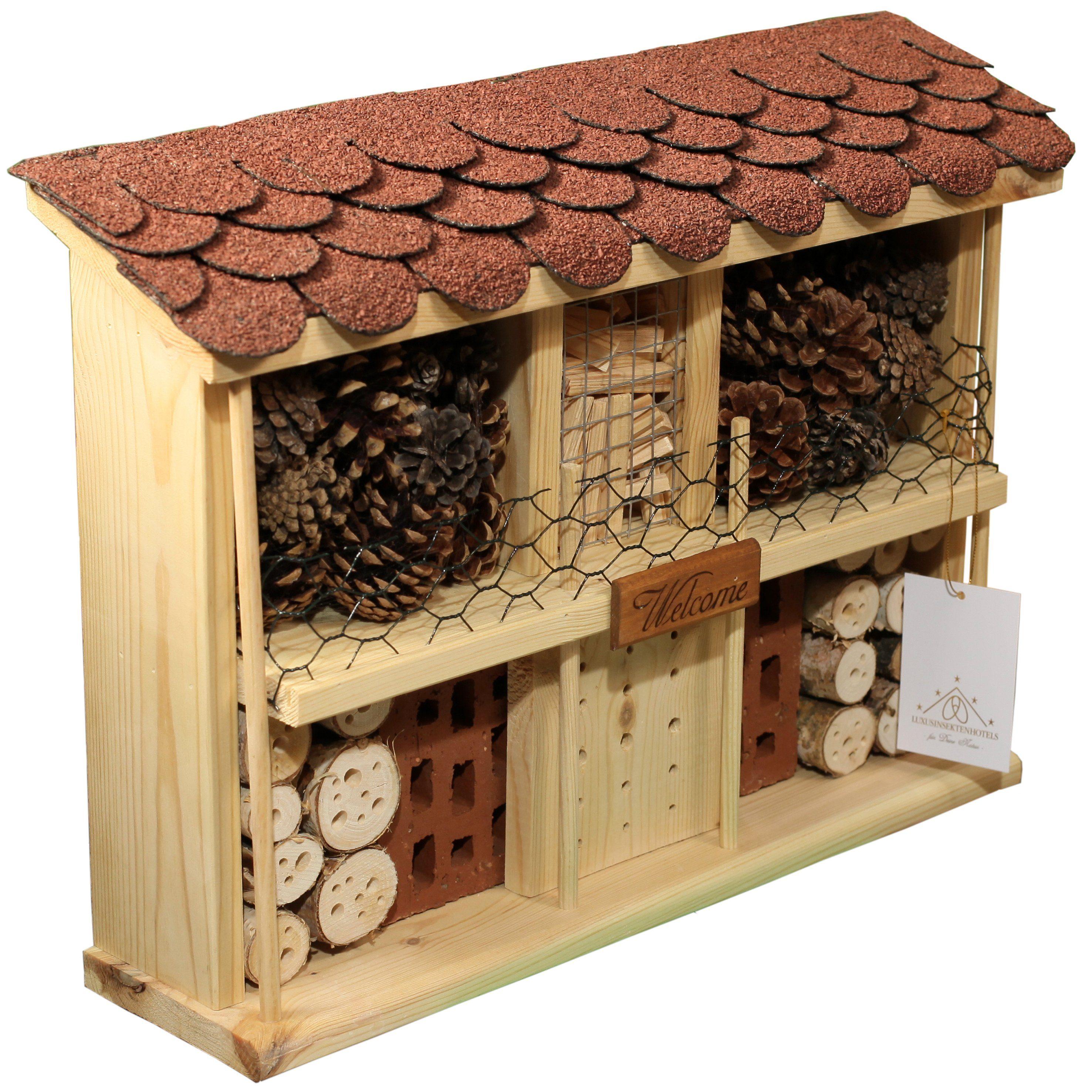 Luxusinsektenhotels Insektenhotel »Landhaus Komfort - Bausatz«