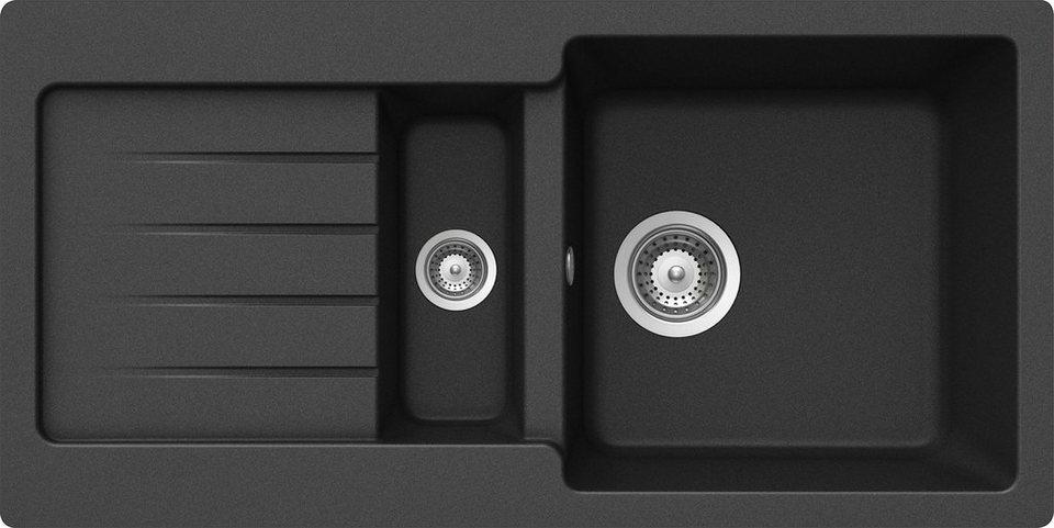 Schock Granitspule Family Mit Restebecken 86 X 43 5 Cm Online