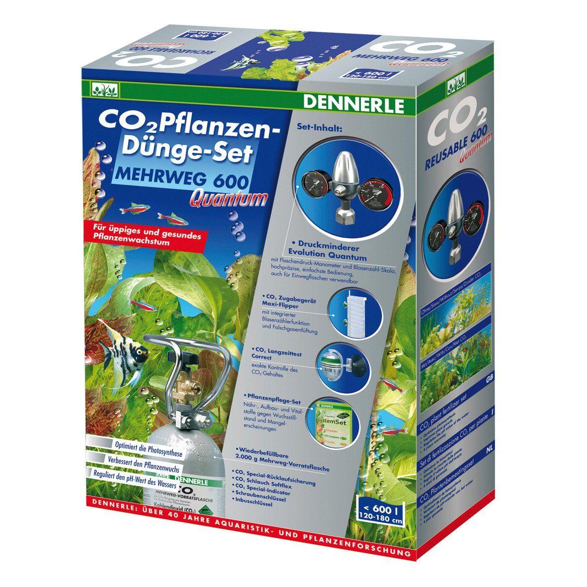 Dennerle Aquariumpflege »CO2 Pflanzen-Dünge-Set MEHRWEG 600 Quantum«