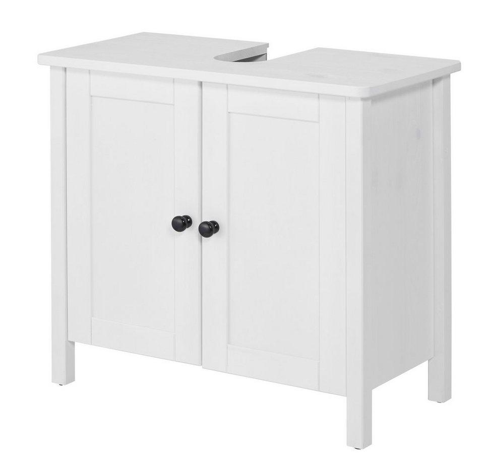 Waschbeckenunterschrank »Sylt«, Breite 65 cm in weiß