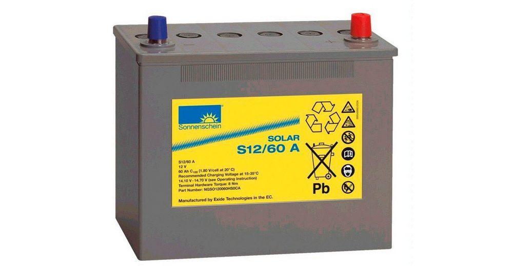 Solar-Gel-Batterie, 60 Ah