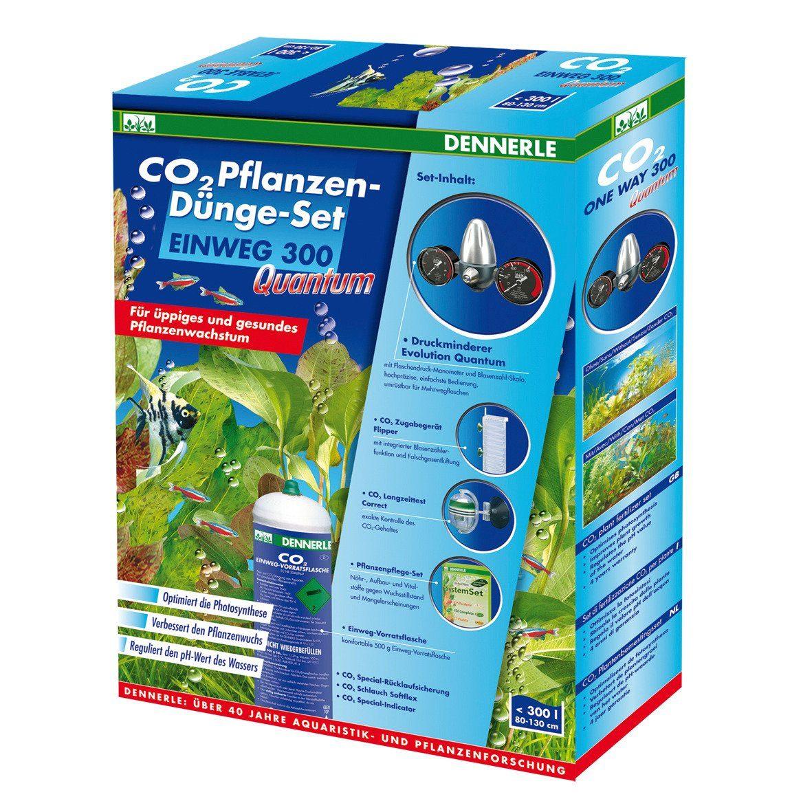 Dennerle Aquariumpflege »CO 2 Pflanzen-Dünge-Set Einweg 300«