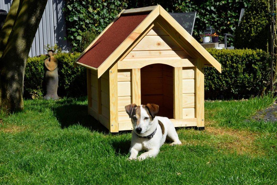 Hundehütte »Peanut 92x75 cm« in braun
