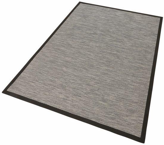 Teppich »Naturino Color«, Dekowe, rechteckig, Höhe 7 mm, Flachgewebe, Sisal-Optik, mit Bordüre, In- und Outdoor geeignet, Wohnzimmer