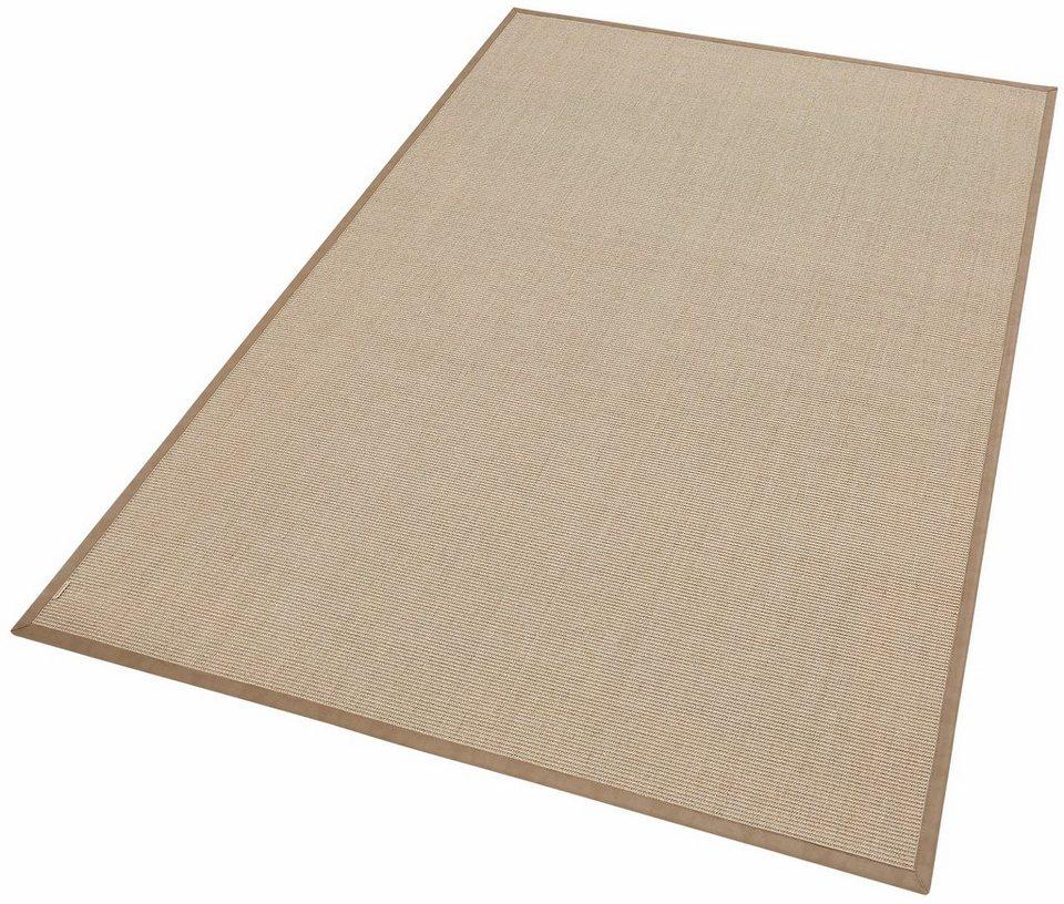 Sisal-Teppich, Dekowe, »Temse«, Melange-Effekt, gewebt in sand