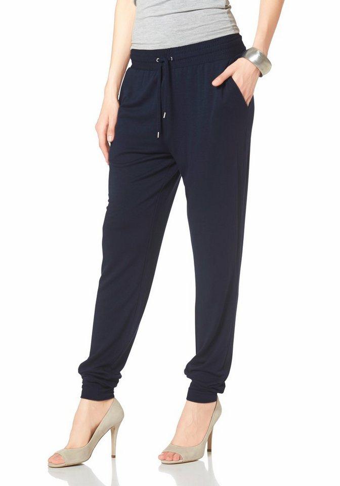 Laura Scott Sweathose Jogg-Pants in dunkelblau