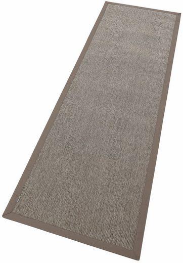 Läufer »Naturino Rips«, Dekowe, rechteckig, Höhe 7 mm, Flachgewebe, Sisal-Optik, In- und Outdoor geeignet