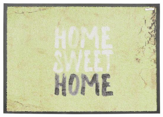 Fußmatte »Broadway«, SCHÖNER WOHNEN-Kollektion, rechteckig, Höhe 9 mm, rutschhemmend beschichtet, waschbar