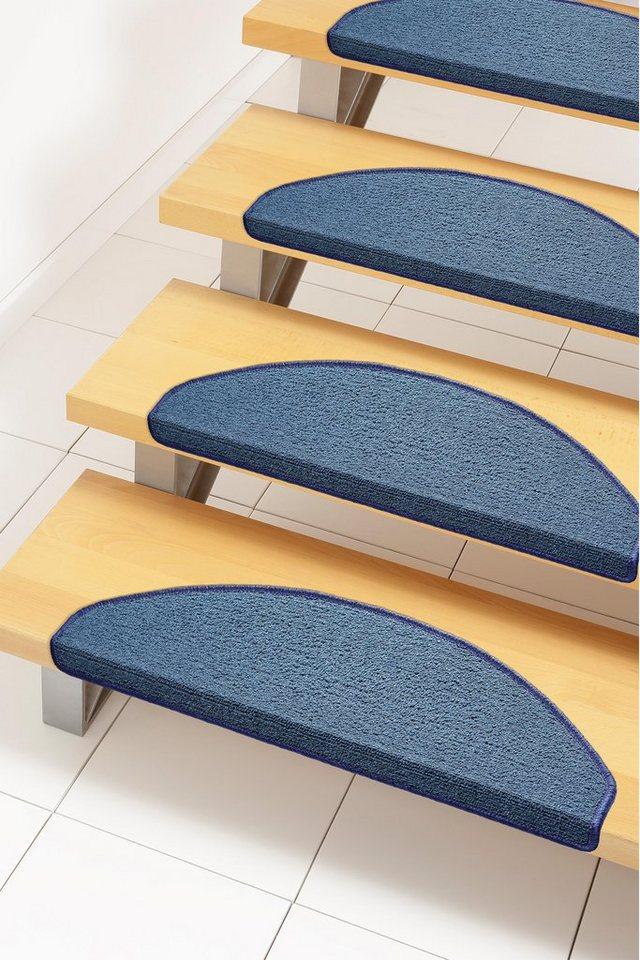 Stufenmatte, Andiamo, »Bob«, Melange-Effekt, getuftet (15 Stck.) in blau