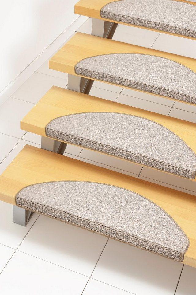 Stufenmatte, Andiamo, »Bob«, Melange-Effekt, getuftet (15 Stck.) in beige