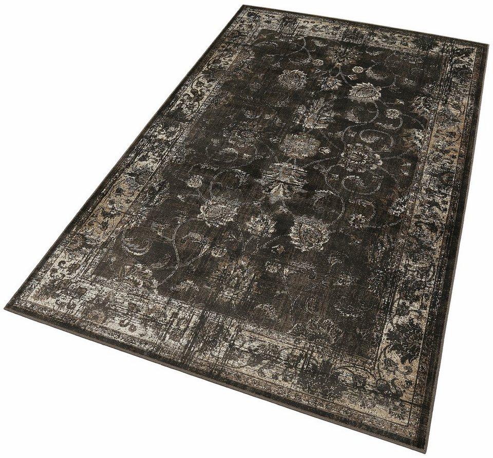 Orient-Teppich, Dekowe, »Baoding«, Melange-Effekt, gewebt in anthr./sand