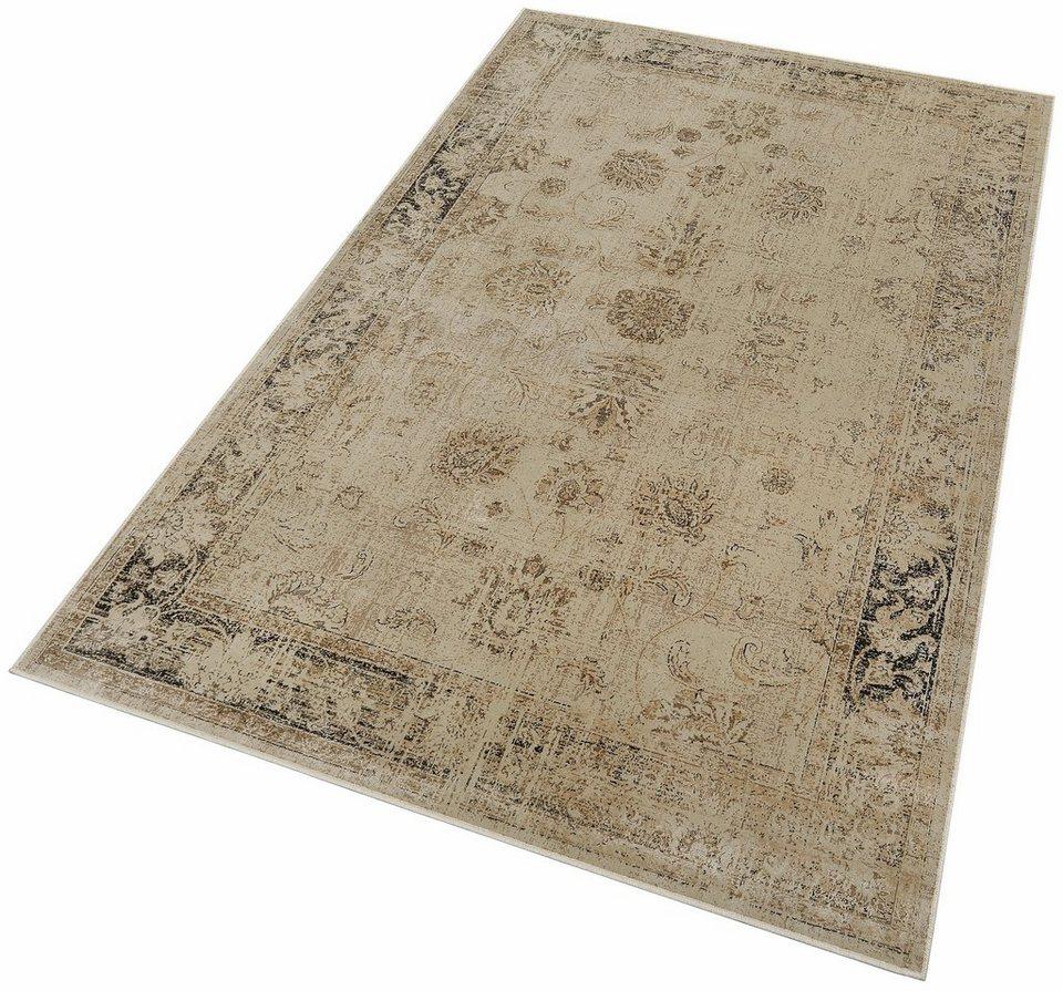 Orient-Teppich, Dekowe, »Baoding«, Melange-Effekt, gewebt in hellbeige