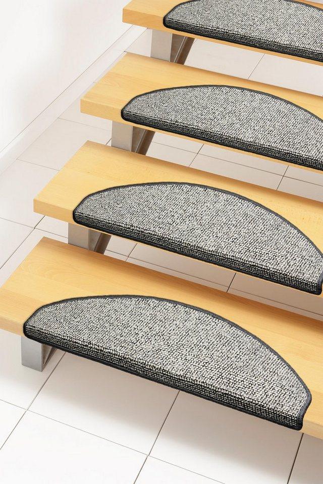 Stufenmatte, Andiamo, »John«, Hoch-Tief-Effekt, getuftet (15 Stck.) in beige-grau