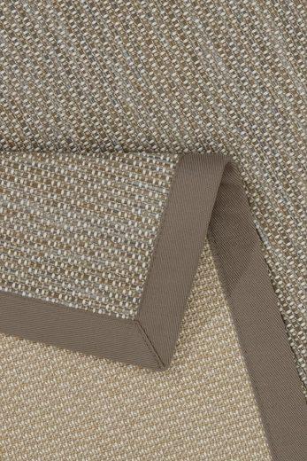 Läufer »Naturino Color«  Dekowe  rechteckig  Höhe 7 mm  Flachgewebe  Sisal-Optik  In- und Outdoor geeignet
