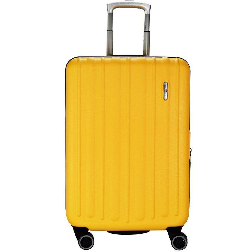 Hardware Profile Plus 4-Rollen Trolley M 66 cm in yellow