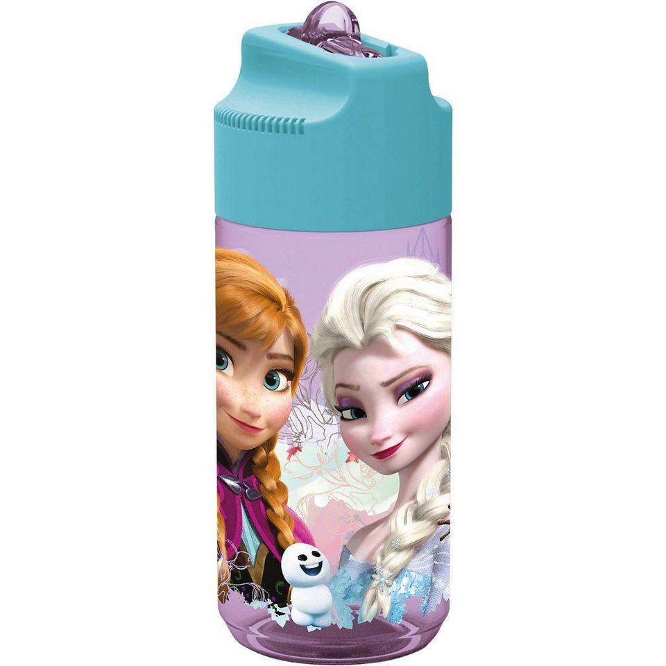 P:OS Trinkflasche Die Eiskönigin transparent, 450 ml in türkis