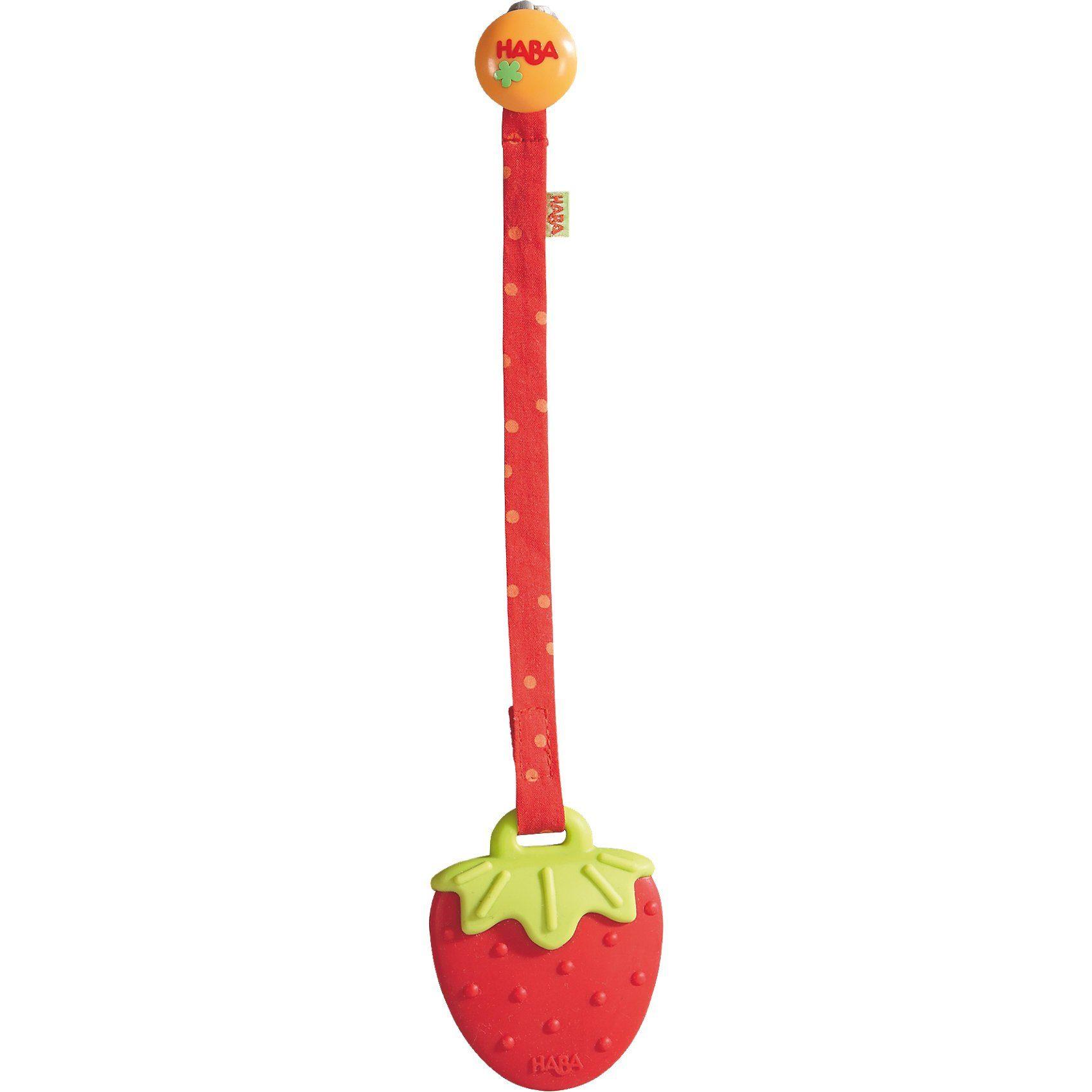 Haba Beißring Erdbeere (Zahnungshilfe)