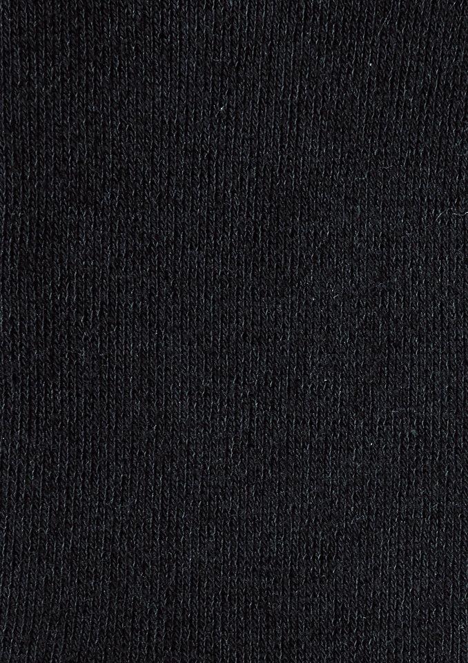 Socken (3 Paar) in schwarz