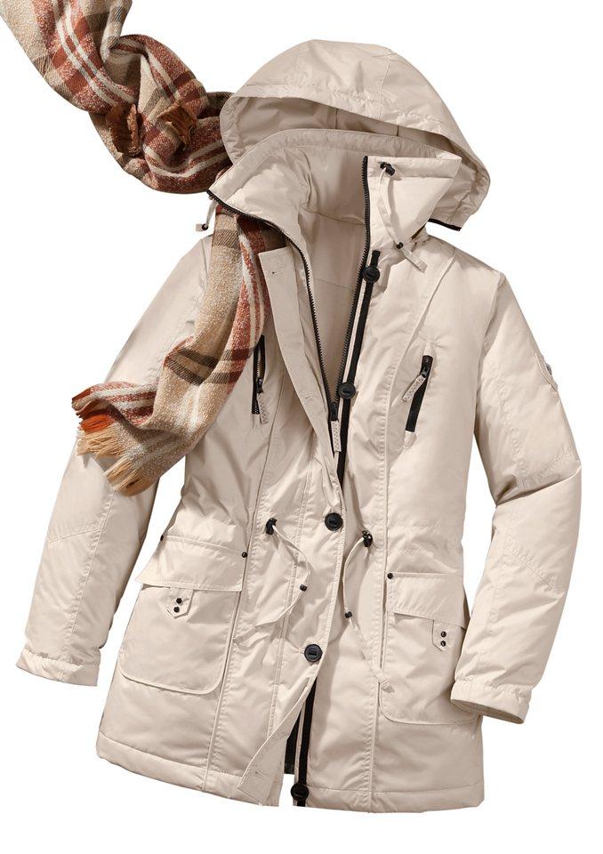 Collection L. Jacke mit Tunnelzug in beige