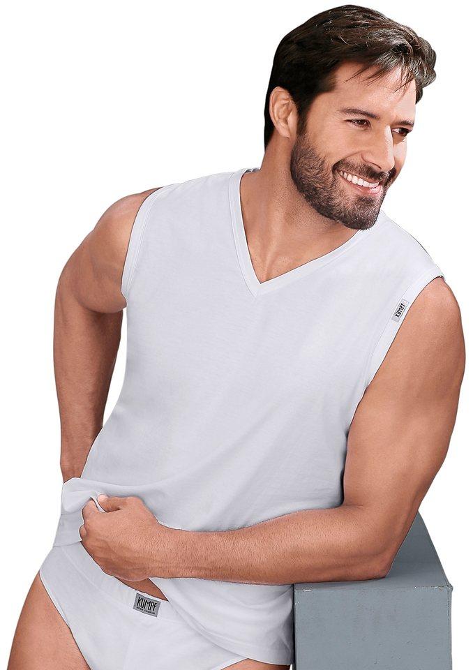 Shirt, Kumpf (2 Stck.) in 2 Stück weiß