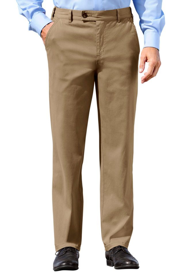 J. Witt Collection Hose mit Dehnbund in camel