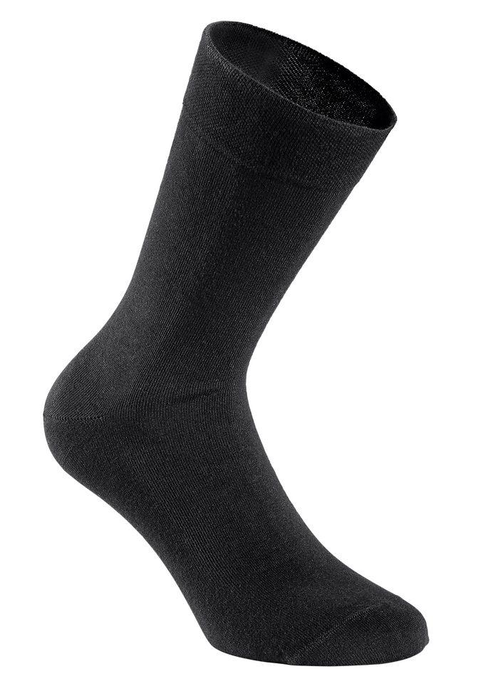 Damen-Socken (6 Paar) in schwarz