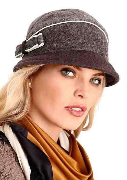 Wegener Mütze mit seitlicher Schleife