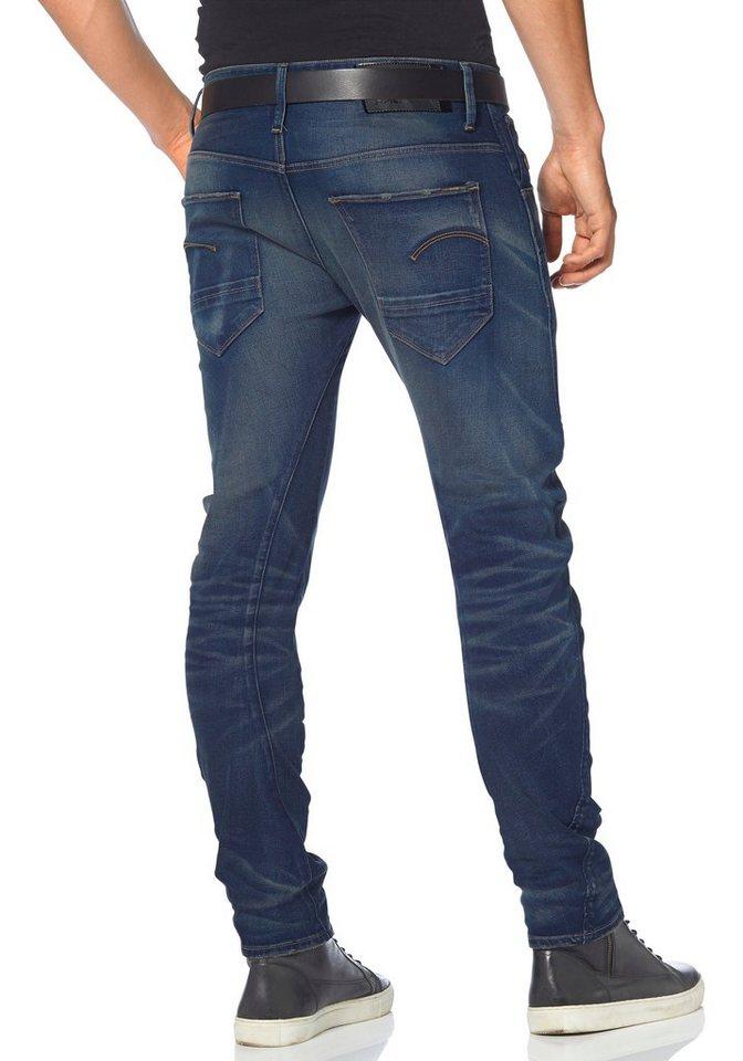 G-Star Slim-fit-Jeans »arc 3d slim« in medium-blue-aged