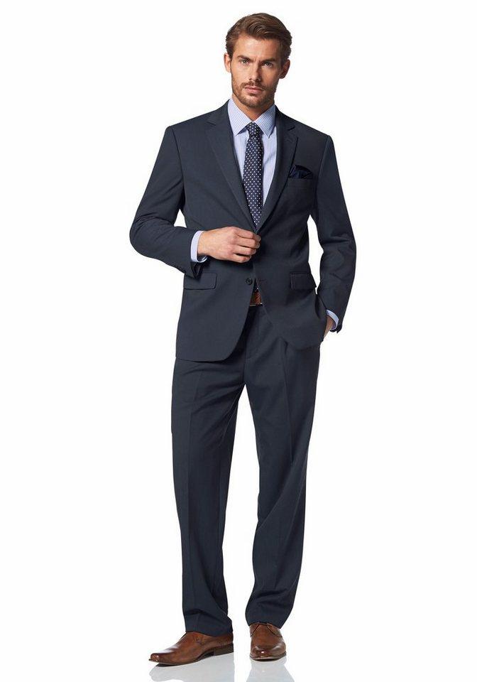 Class International Anzug in rauchblau