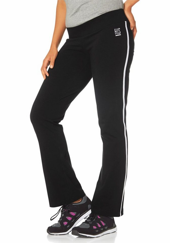 H.I.S Jazzpants in Schwarz
