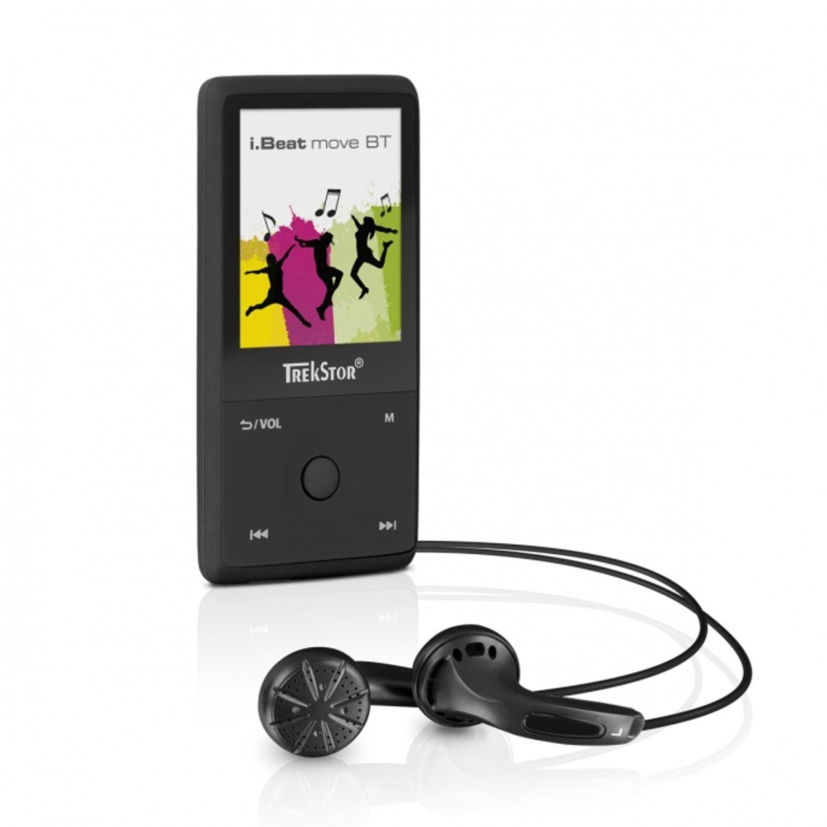 TrekStor MP3-Player »i.Beat move BT 8GB, schwarz«