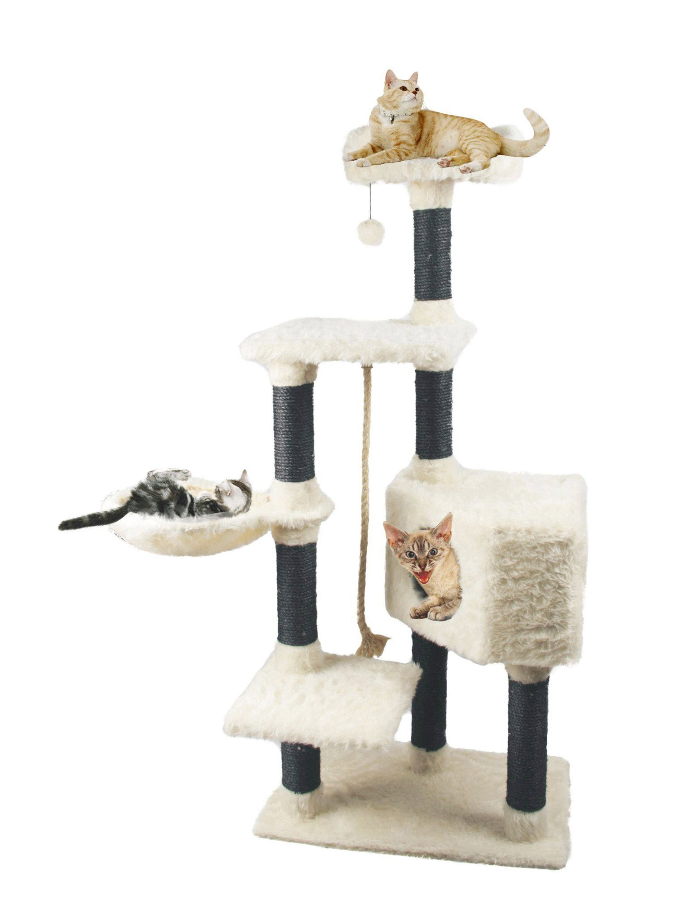 Heim Kratzbaum »White Cat«