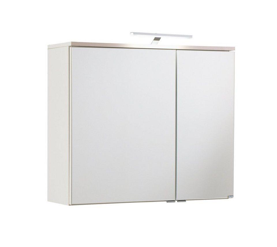 Spiegelschrank »Move« Breite 80 cm, mit LED-Beleuchtung in weiß