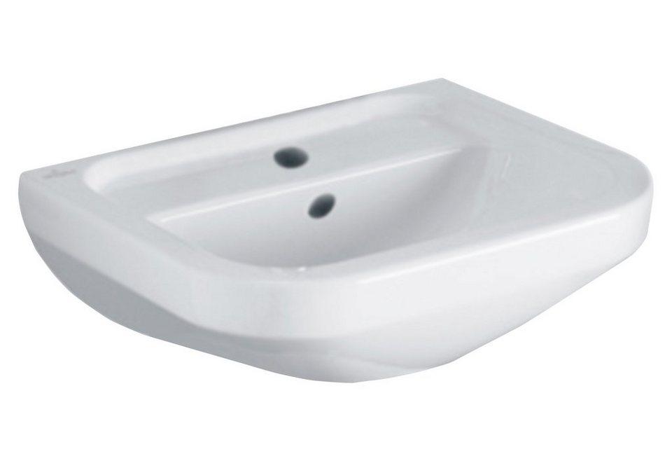 Keramik Waschtisch / Waschbecken »Architectura« 46 cm