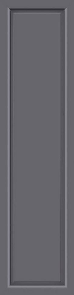 KM MEETH ZAUN GMBH Seitenteile »S04«, für Alu-Haustür, BxH: 60x208 cm, anthrazit in grau