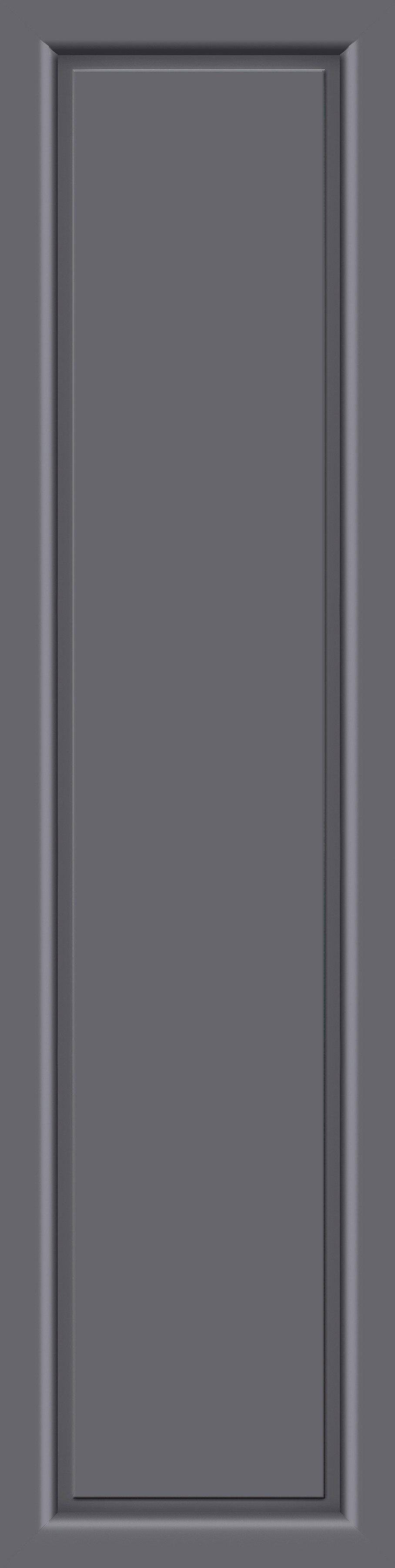 KM MEETH ZAUN GMBH Seitenteile »S04«, für Alu-Haustür, BxH: 60x208 cm, anthrazit